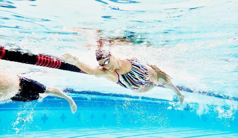 тренировка по плуване